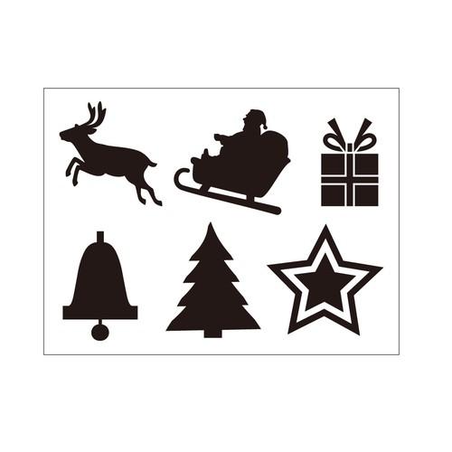 ステッカー クリスマスアイテム1