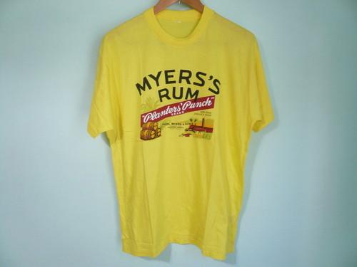 MYERS'S RUM マイヤーズラム Tシャツ JAMAICA ジャマイカ / 酒 アルコール ドリンク レゲエ REGGAE