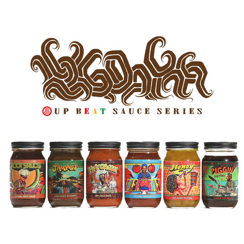 UP BEAT SAUCE SERIES 6本セット