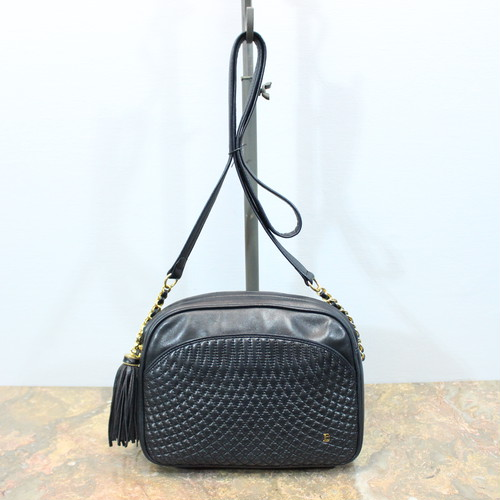 .OLD BALLY MESH LEATHER SHOULDER BAG MADE IN ITALY/オールドバリーメッシュレザーショルダーバッグ 2000000031149