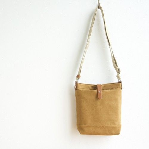 CANVAS SHOULDER S / CAMEL