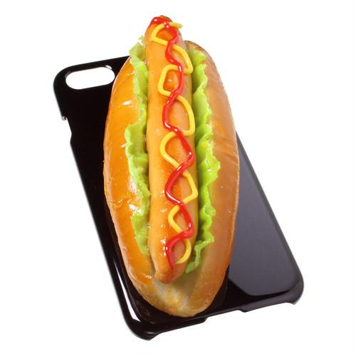 [8000]食品サンプル屋さんのスマホケース(iPhoneSE (第2世代):ホットドッグ)【メール便不可】