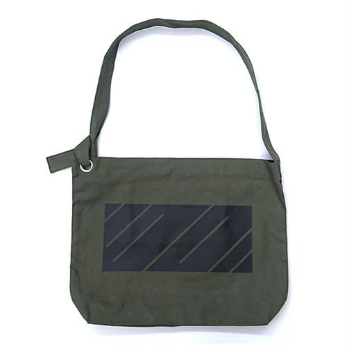 scar /////// MONOLITH RING SHOULDER BAG (Olive)
