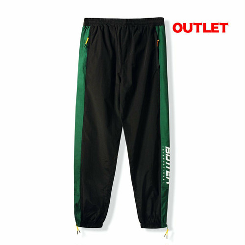 【アウトレット】BUTTER GOODS RUNNER TRACKSUIT PANT BLACK / FOREST サイズM