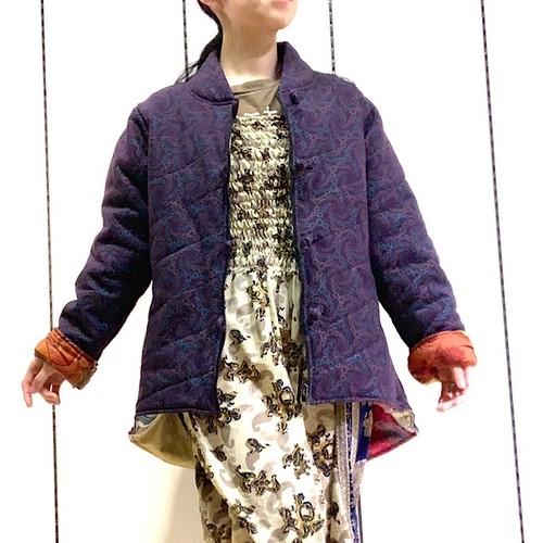 【紫ラスト1点!】HTP-001 サリーキルティングHANTEN 紫L