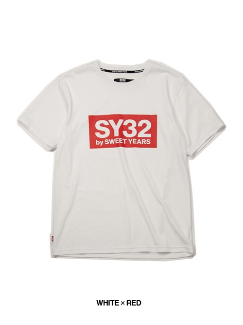 SY32 COLOR BOX LOGO TEE(9023)