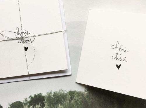 """カード Chérie Chérie  """"ハニーハニー"""""""