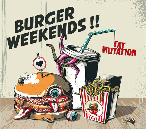burger weekends / fat mutation 12""