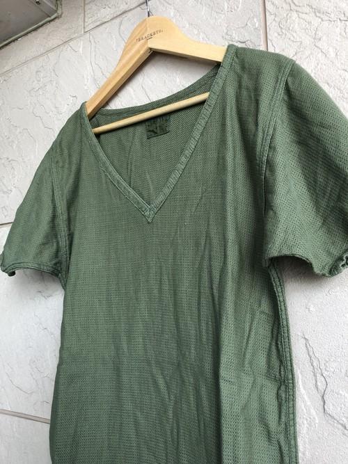 1960s British military mesh olive T-shirts