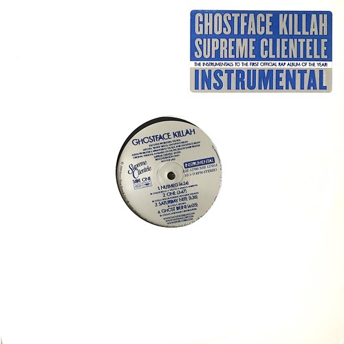 Ghostface Killah - Supreme Clientele (Instrumental) (2×Vinyl, LP, Promo, Album, US, 2000)