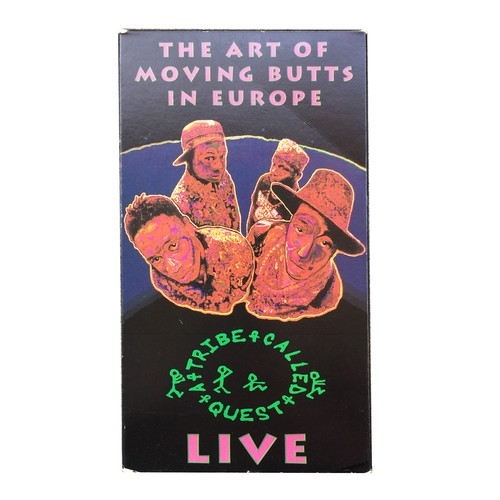 ATCQ VHS : The Art Of Moving Butts In Europe - Live