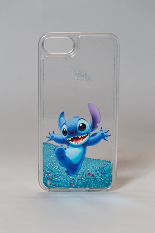 スマートフォンケース ディズニー iPhone 5S SE 6S 7ケースプラスディズニーグリッタースター流砂ケース