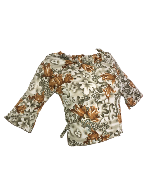 MOSSY FLOWERS TOP