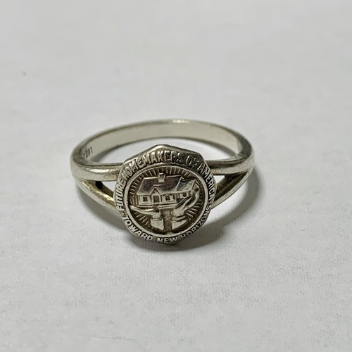 Vintage Future Homemakers Of America Ring