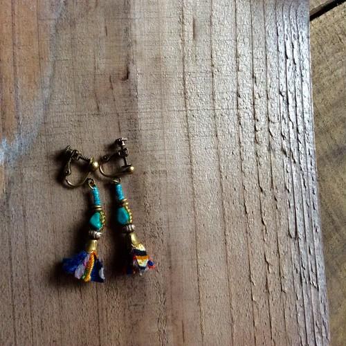 トルコの踊り子 耳飾り ピアス/イヤリング
