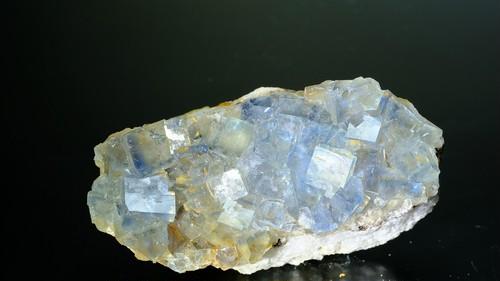 青色蛍石 ドイツ フライベルグ Beihilfe Mine