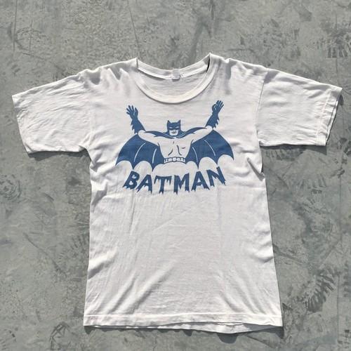 60's 70's BATMAN バットマン Tシャツ 染み込み VEE-KAY パキ綿 パロディー ブート BATFINK M 希少 レア ヴィンテージ