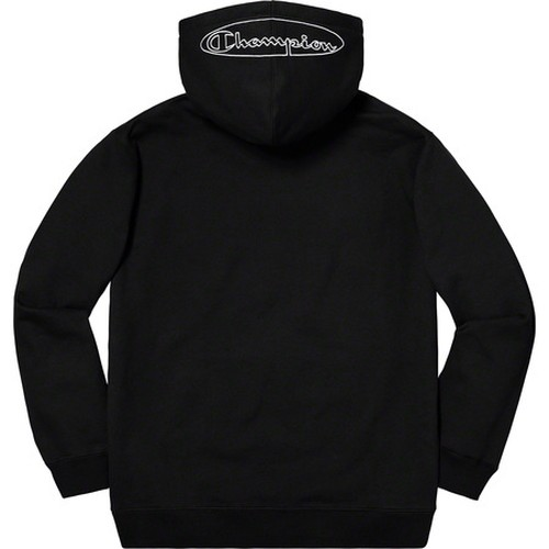 Supreme Champion Outline Hooded Sweatshirt