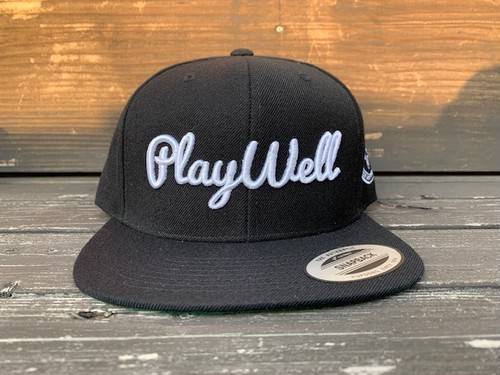 Play Well  Golf  BB CAP(ブラック)
