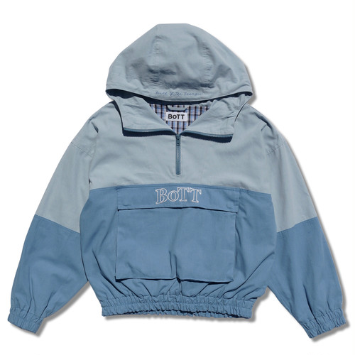 2 Tone Anorak Jacket(blue)