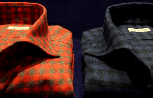 CADETTO ORIGINALS SHIRTS Flannel Gingham Check