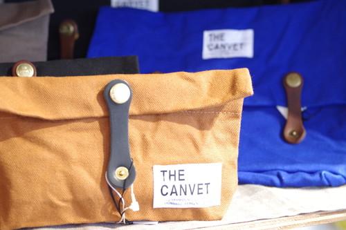 THE CANVET 帆布 Made in JAPAN  ポーチ Sサイズ