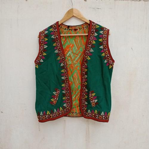 Vintage タジキスタンの刺繍ベスト