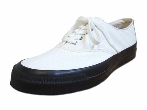 【メンズ】 Asahi アサヒシューズ DECK デッキシューズ M014 MONOCHROME モノクロ キャンバス Shoes MadeinJAPAN 日本製 福岡 久留米