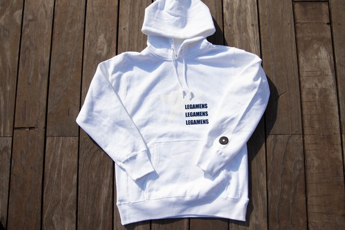 hevy weight hoodie / White