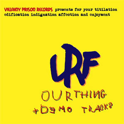LRF / OUR THING+DEMO TRACKS(STUDIOORANGE缶バッジ付)