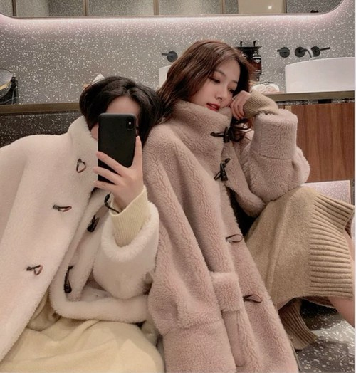 long duffle coat 2color