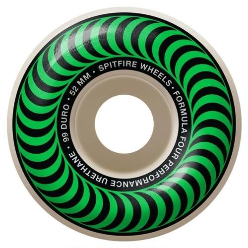 SPITFIRE / F4 CLASSIC  / Green / 52mm / 99d