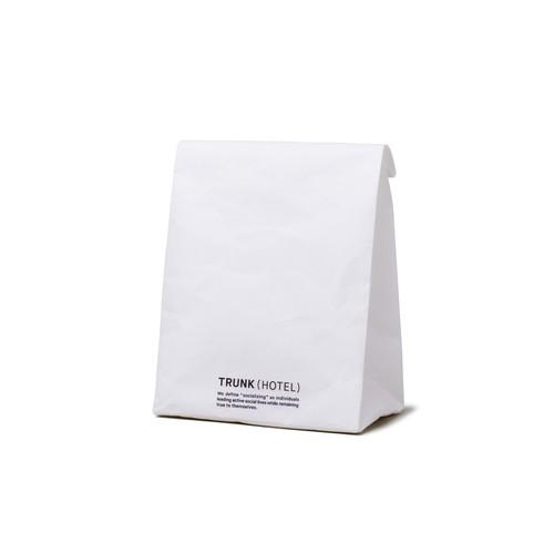 SIWA by DELUXE x TRUNK(HOTEL) Clutch Bag White/Black M