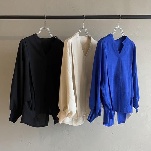 【 ROSIEE 】- R352731 - 後ろボタンスキッパーシャツ