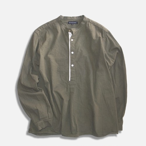 WCH 50's Style Stand Caller Shirts -Olive