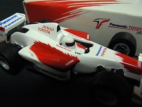 パナソニック トヨタ レーシング ミニカー PAUL'S MODEL