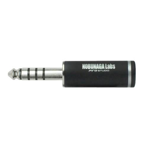4.4mm5極プラグ シルバーメッキ  NLP-PRO-TP4.4/5:: NOBUNAGA Labs pro studio