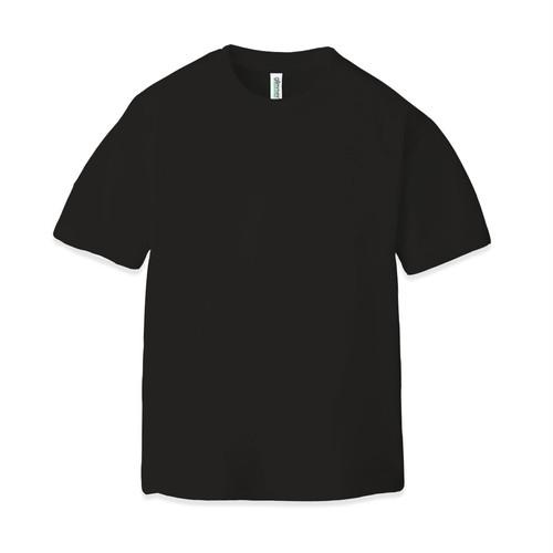 ドライ クルーネックTシャツ(半袖)ブラック