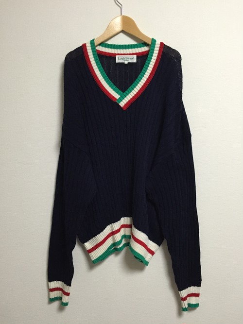 early2000's Louis Feraud V-neck sweater