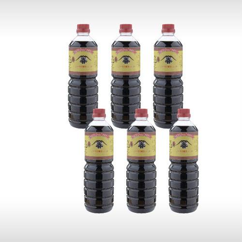 本醸造醬油 1リットルパックが6本
