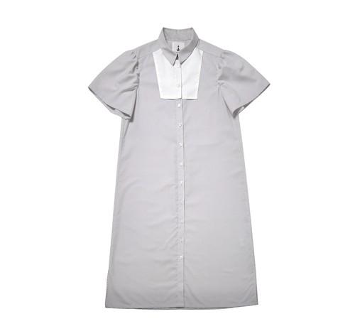 千里 long shirt dress
