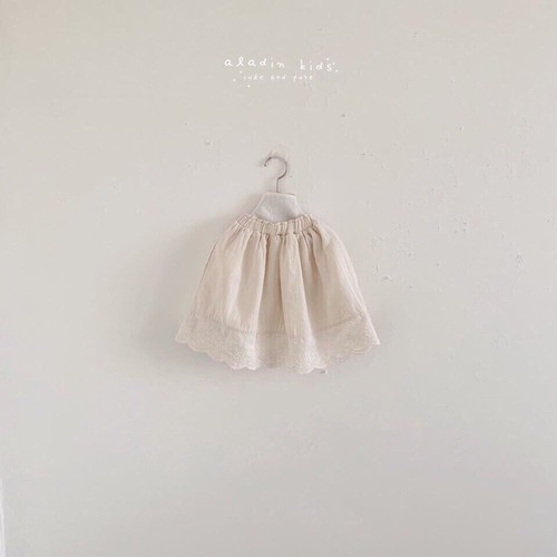 【予約販売】lace skirt〈aladin kids〉