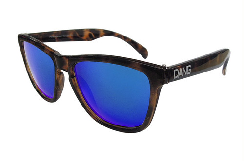 サングラス「DANG SHADES」Light Tortoise X Blue Mirror Polarized【偏光レンズ】