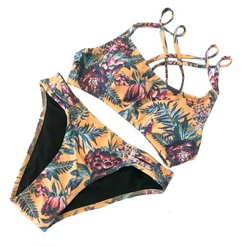 *aqua blanca*Sporty Bikini MUS