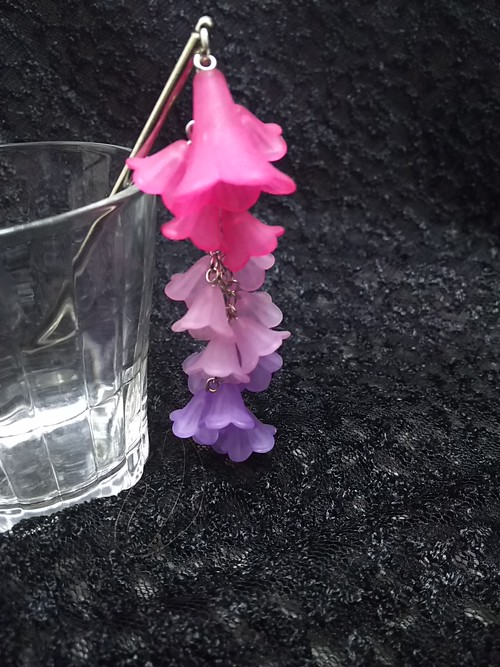 枝垂れかんざし ピンク〜紫