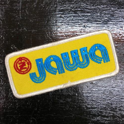70's Jawa Vintage Patch ビンテージモトクロス ヤワ チェコ共和国 オートバイ オフロード トライアルバイク