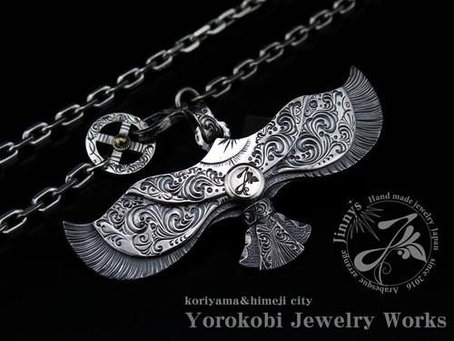 アラベスクイーグルペンダントトップ Jinny's Arabesque Eagle (JS-EP001L)