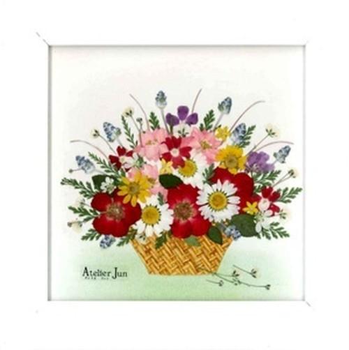 花かご(15×15サイズ)額付き