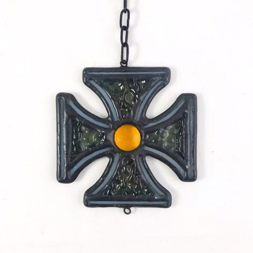 IRON CROSS(amber jewel)