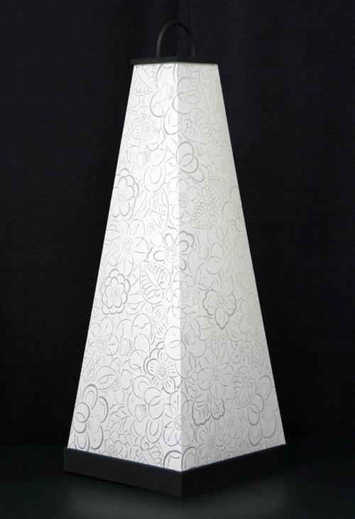 【やぶれない洗える和紙】美濃和紙クロスあかり木枠タイプ(大)